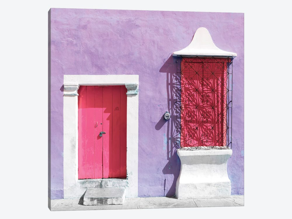 """172 Street"" Pink & Mauve by Philippe Hugonnard 1-piece Canvas Print"