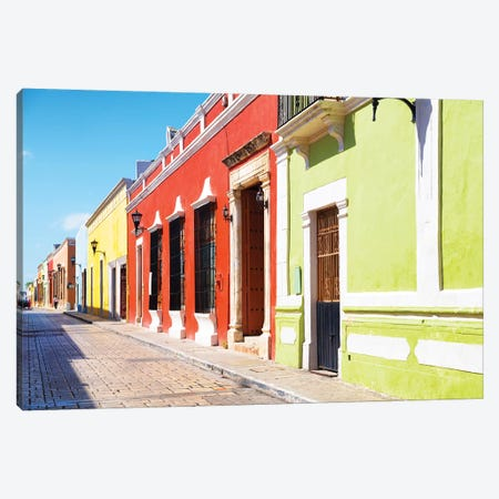 Color Street Canvas Print #PHD274} by Philippe Hugonnard Canvas Art