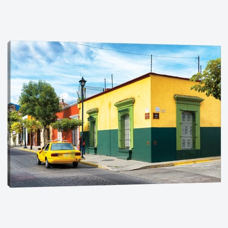 Colorful Mexican Street Canvas Print #PHD276} by Philippe Hugonnard Canvas Wall Art