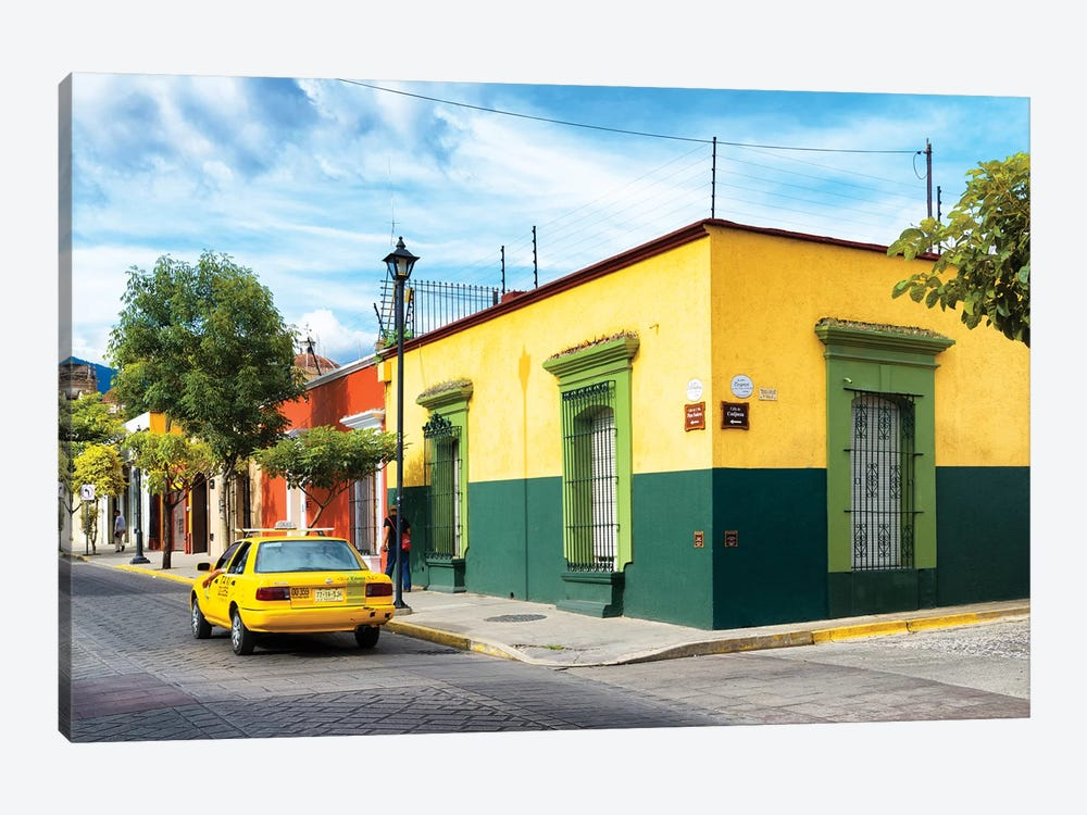 Colorful Mexican Street by Philippe Hugonnard 1-piece Canvas Art