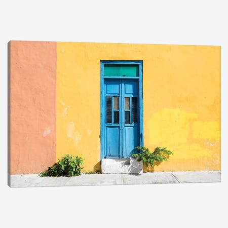 Colorful Street Wall Canvas Print #PHD278} by Philippe Hugonnard Canvas Print