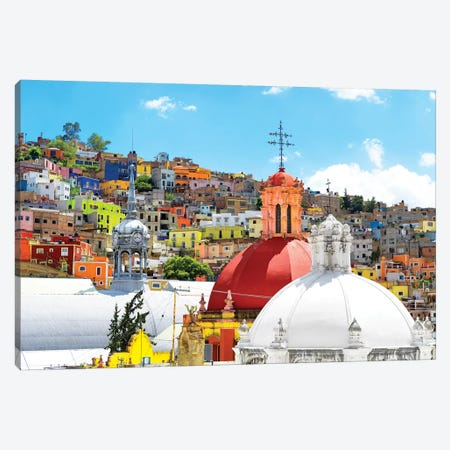 Guanajuato 3-Piece Canvas #PHD283} by Philippe Hugonnard Canvas Artwork