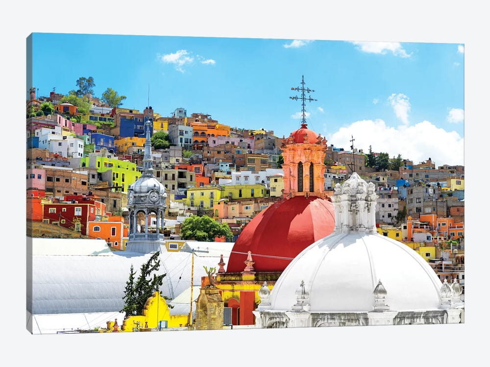 Guanajuato by Philippe Hugonnard 1-piece Canvas Art