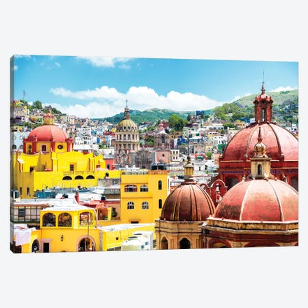 Guanajuato Architecture Canvas Print #PHD284} by Philippe Hugonnard Canvas Print