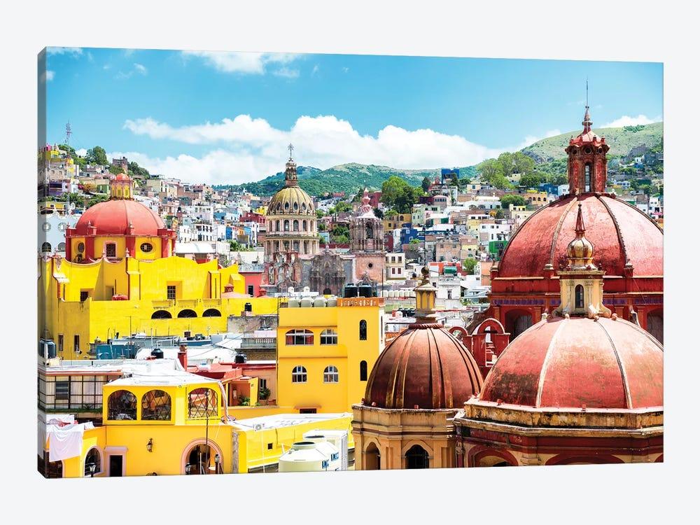 Guanajuato Architecture by Philippe Hugonnard 1-piece Canvas Print