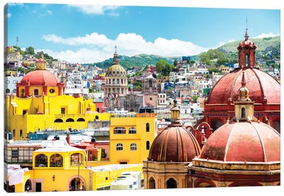 ¡Viva Mexico! Series: Guanajuato Architecture Canvas Print #PHD284