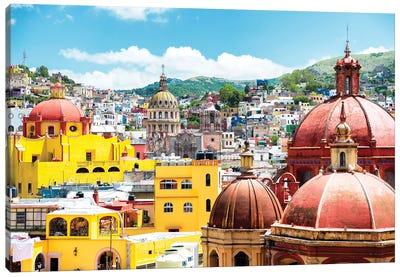 Guanajuato Architecture Canvas Art Print
