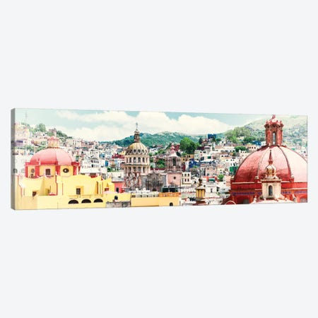 Guanajuato Cityscape Canvas Print #PHD285} by Philippe Hugonnard Art Print