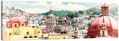 ¡Viva Mexico! Series: Guanajuato Cityscape Canvas Print #PHD285