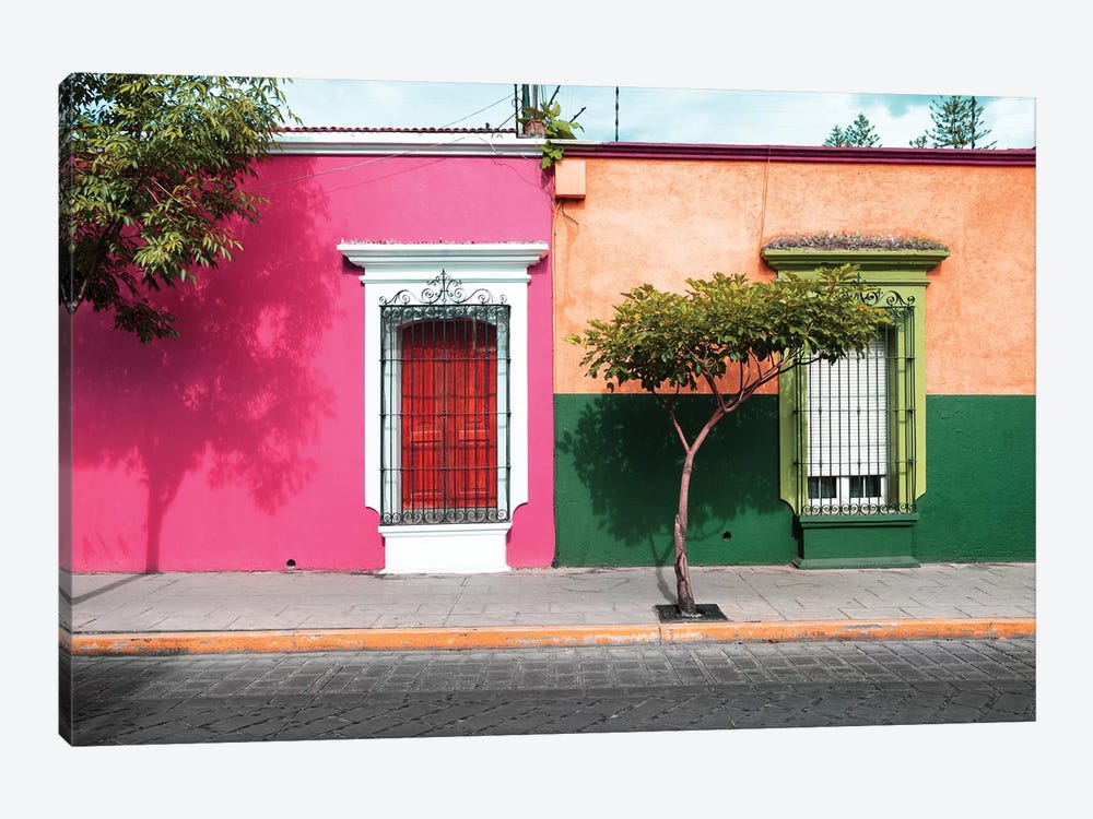 Mexican Colorful Facades by Philippe Hugonnard 1-piece Art Print