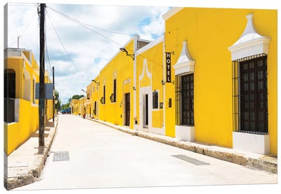 ¡Viva Mexico! Series: The Yellow City Canvas Print #PHD294