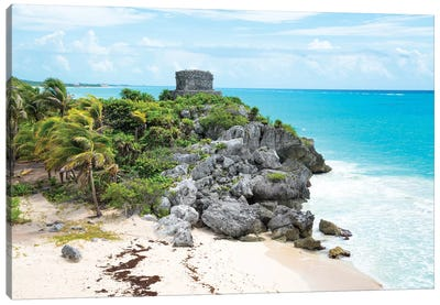 Tulum Ruins Canvas Art Print