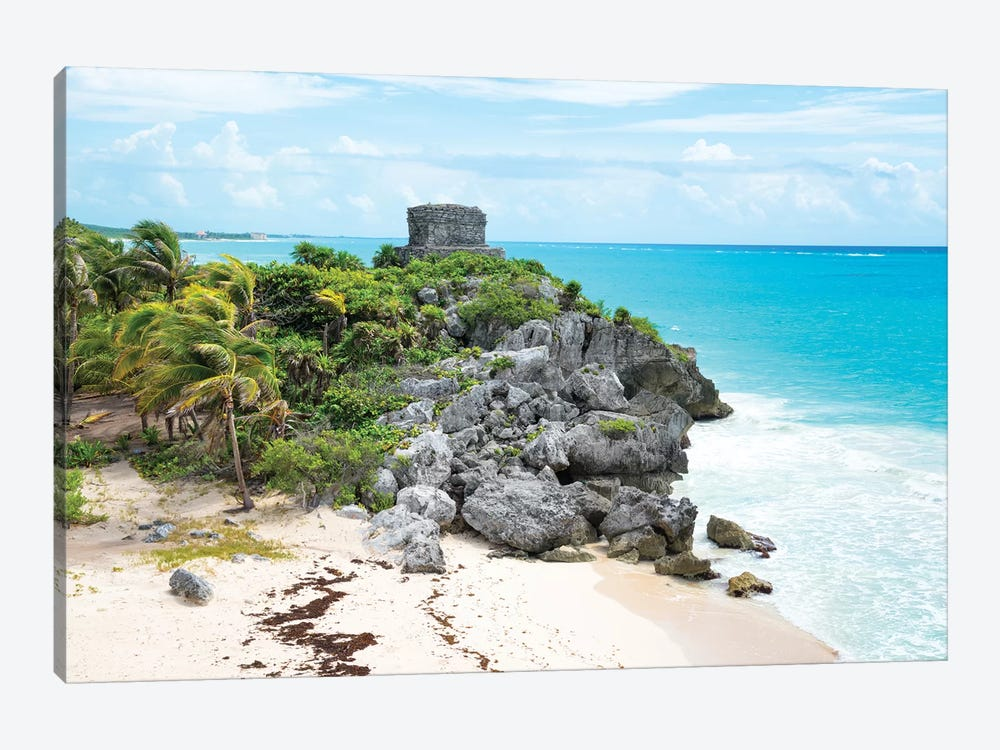 Tulum Ruins by Philippe Hugonnard 1-piece Art Print