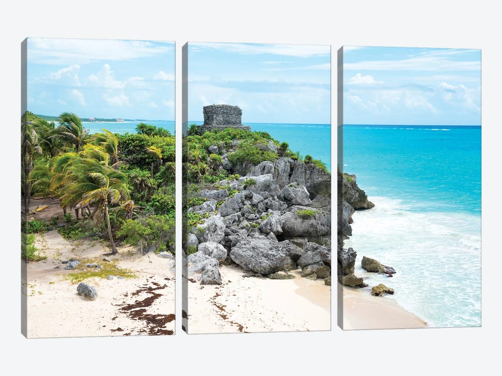 Tulum Ruins by Philippe Hugonnard 3-piece Art Print