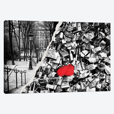 Paris Eternal Love Canvas Print #PHD30} by Philippe Hugonnard Canvas Print