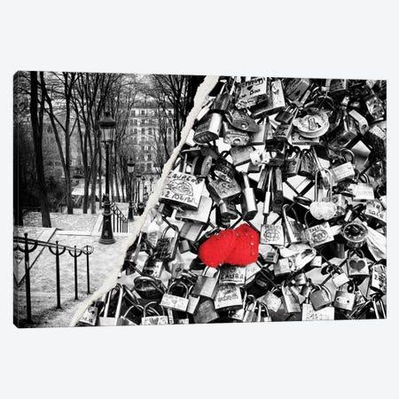 Paris Eternal Love Canvas Print #PHD30} by Philippe Hugonnard Canvas Print