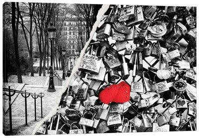 Paris Eternal Love Canvas Art Print