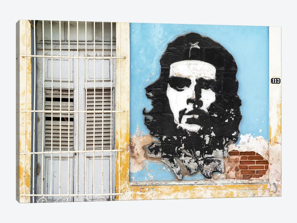 Che Guevara Mural V by Philippe Hugonnard 1-piece Canvas Wall Art