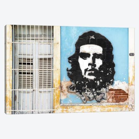 Che Guevara Mural V 3-Piece Canvas #PHD331} by Philippe Hugonnard Canvas Wall Art