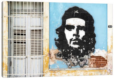Che Guevara Mural V Canvas Art Print