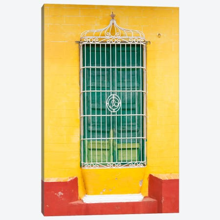 Colorful Cuban Window Canvas Print #PHD334} by Philippe Hugonnard Canvas Art Print
