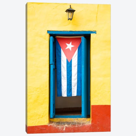 Cuban Flag Canvas Print #PHD335} by Philippe Hugonnard Canvas Print