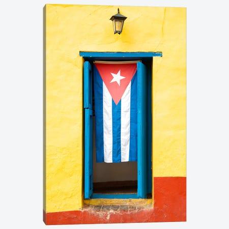 Cuban Flag Canvas Print #PHD335} by Philippe Hugonnard Canvas Print