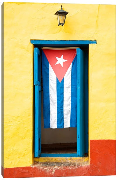 Cuban Flag Canvas Art Print