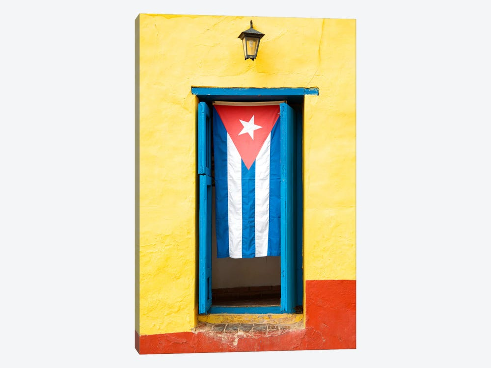 Cuban Flag by Philippe Hugonnard 1-piece Canvas Wall Art