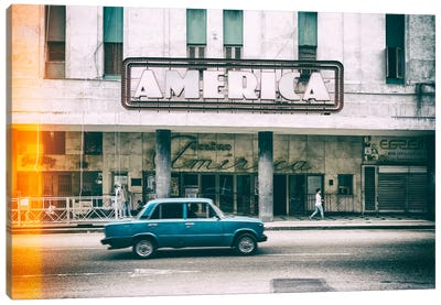 Teatro America in Havana II Canvas Art Print