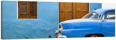 Havana Blue Street Canvas Art Print