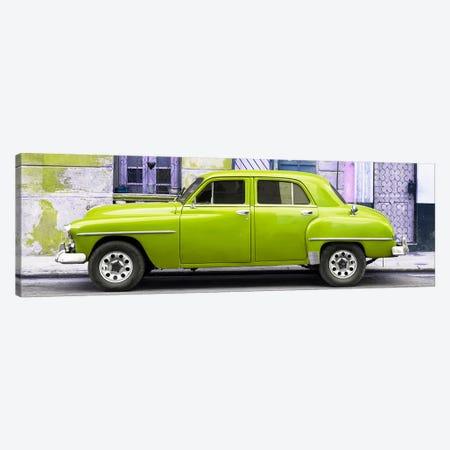 Lime Green Classic American Car Canvas Print #PHD353} by Philippe Hugonnard Canvas Art
