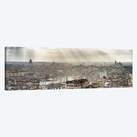 Rays Of Light On Havana II Canvas Print #PHD356} by Philippe Hugonnard Art Print