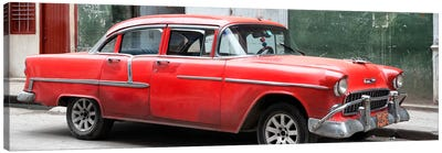 Red Chevy  Canvas Art Print