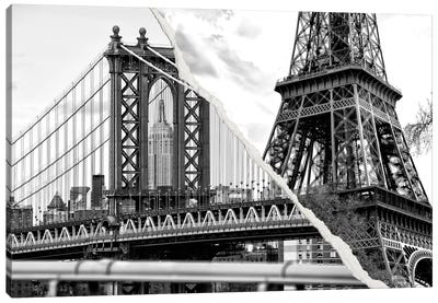 The Tower and the Bridge Canvas Art Print