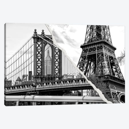 The Tower and the Bridge Canvas Print #PHD35} by Philippe Hugonnard Canvas Artwork