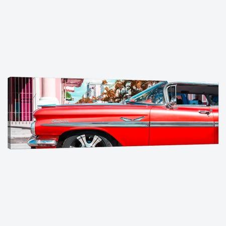 "Vintage Red Car ""Streetmachine"" Canvas Print #PHD365} by Philippe Hugonnard Canvas Wall Art"