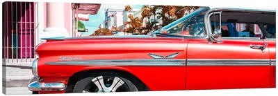 "Vintage Red Car ""Streetmachine"" Canvas Art Print"