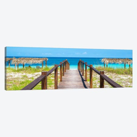Way To The Beach Canvas Print #PHD366} by Philippe Hugonnard Canvas Artwork