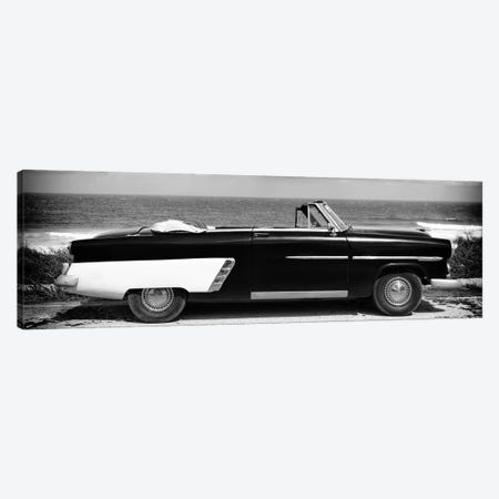 Cabriolet Car in B&W Canvas Print #PHD368} by Philippe Hugonnard Canvas Print