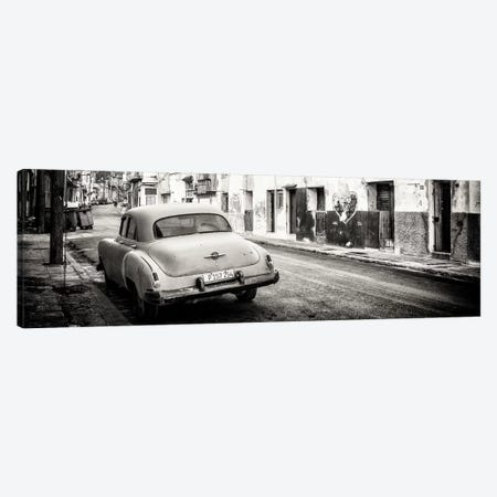 Classic Car in Havana in B&W Canvas Print #PHD369} by Philippe Hugonnard Art Print