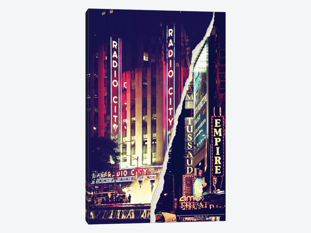 Times Square Theater District by Philippe Hugonnard 1-piece Art Print