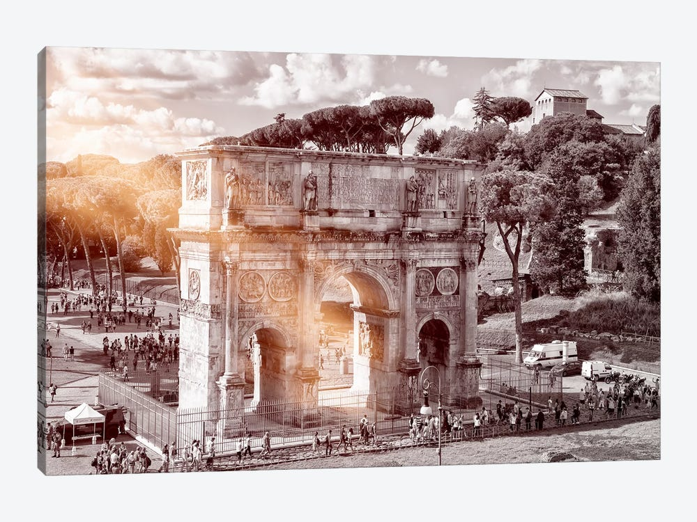 Dolce Vita Rome - Ray of Light Collection - Arch of Constantine by Philippe Hugonnard 1-piece Art Print