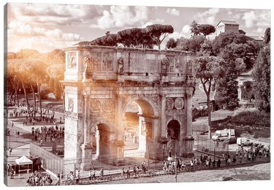Arch of Constantine Canvas Art Print