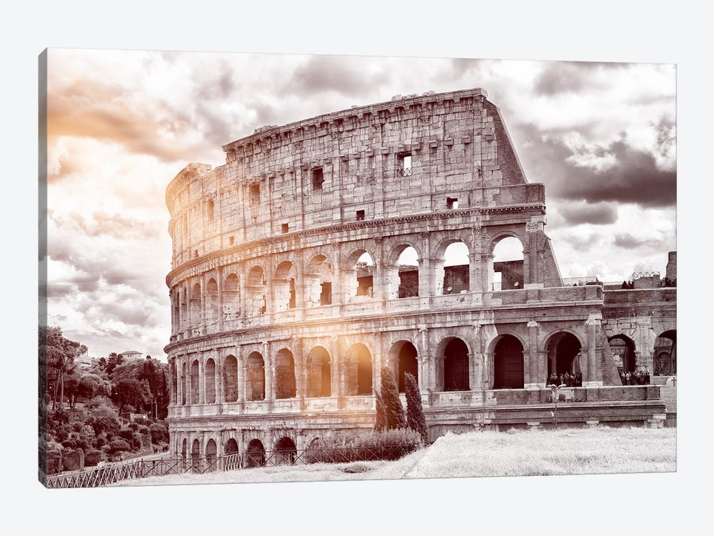 Colosseum Roma by Philippe Hugonnard 1-piece Canvas Art