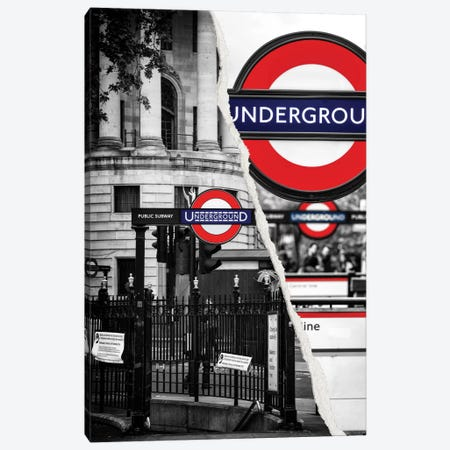 Underground Canvas Print #PHD37} by Philippe Hugonnard Canvas Wall Art
