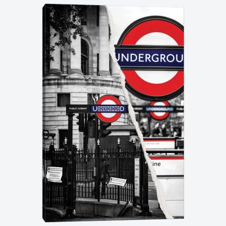 Underground Canvas Print #PHD37} by Philippe Hugonnard Canvas Wall Art