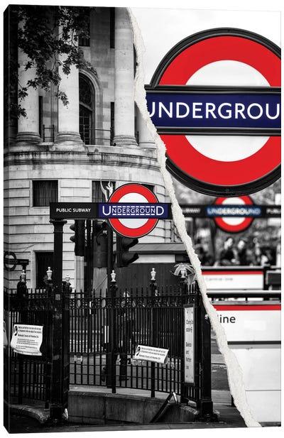Underground Canvas Art Print
