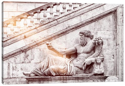 Roman Statue Canvas Art Print