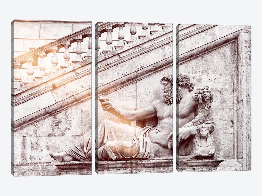 Roman Statue by Philippe Hugonnard 3-piece Canvas Art